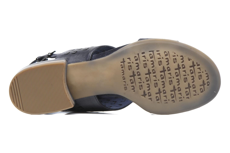 Sandales et nu-pieds Tamaris Solidage Bleu vue haut