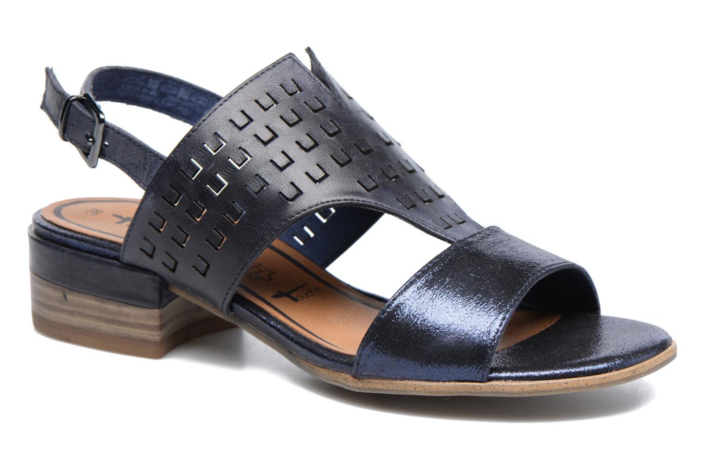 Sandales et nu-pieds Tamaris Solidage Bleu vue détail/paire