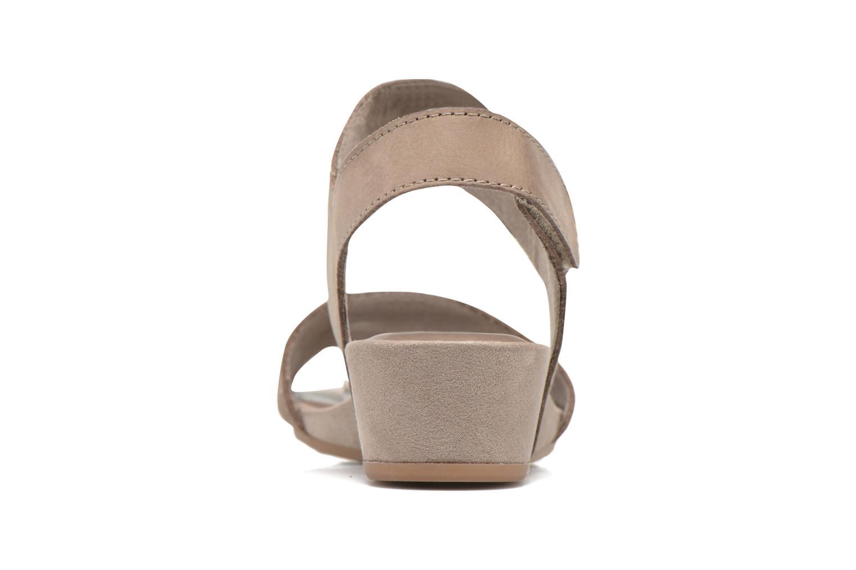 Sandales et nu-pieds Tamaris Tulia Beige vue droite