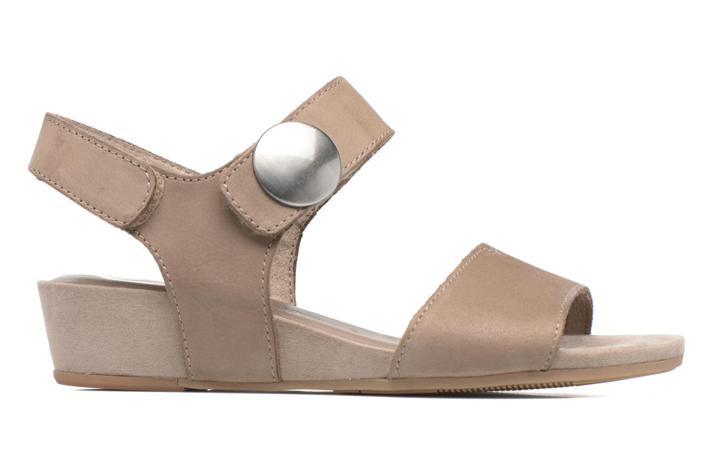 Sandales et nu-pieds Tamaris Tulia Beige vue derrière