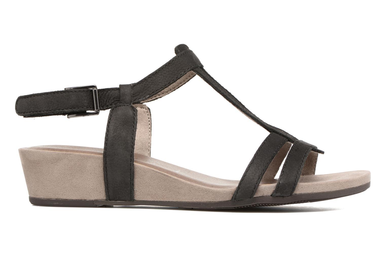 Sandales et nu-pieds Tamaris Potentille Noir vue derrière