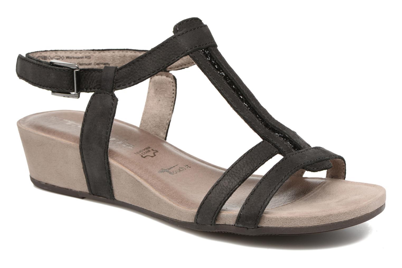 Sandales et nu-pieds Tamaris Potentille Noir vue détail/paire