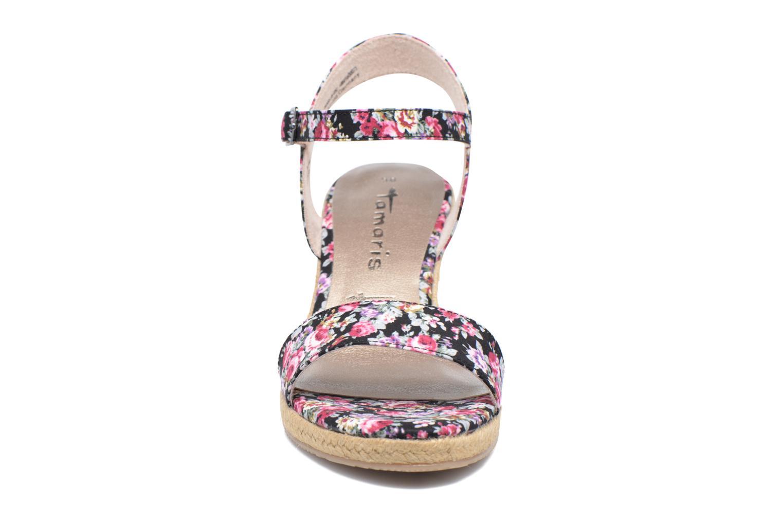 Sandales et nu-pieds Tamaris Nepeta Multicolore vue portées chaussures