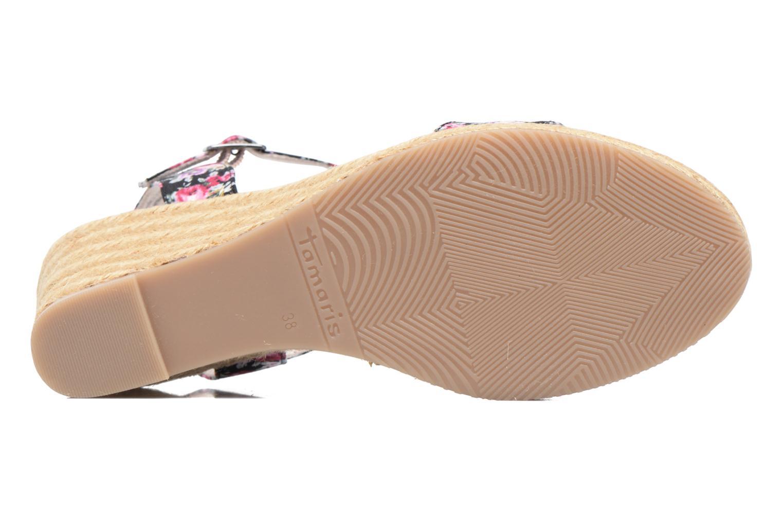 Sandales et nu-pieds Tamaris Nepeta Multicolore vue haut