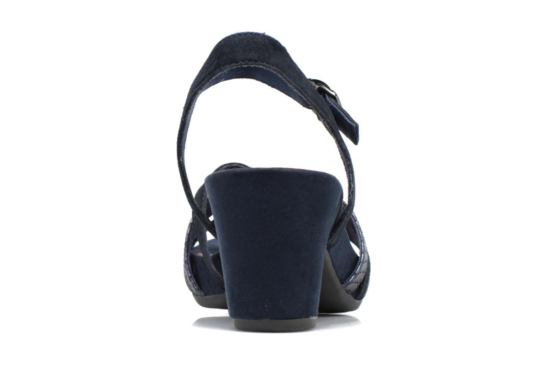 Sandales et nu-pieds Tamaris Euphorbe Bleu vue droite
