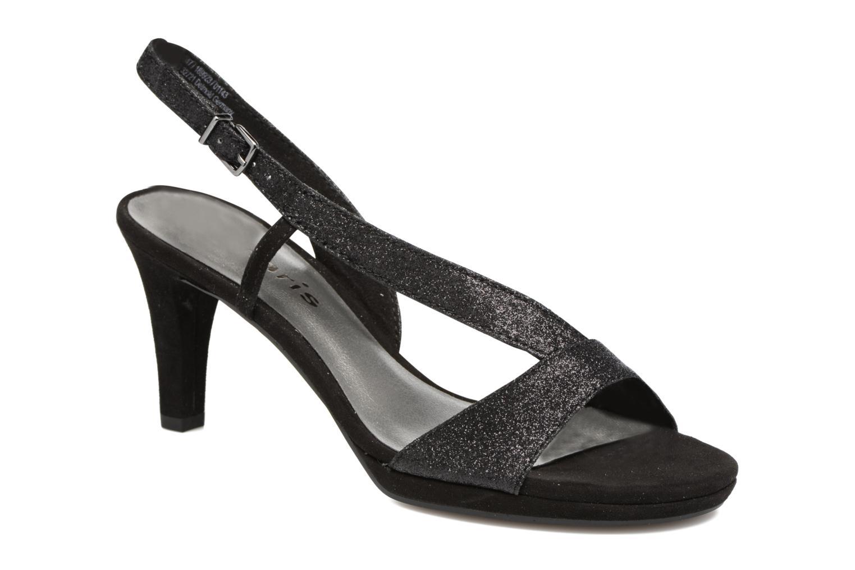 Høje hæle Tamaris Ammy Sort detaljeret billede af skoene