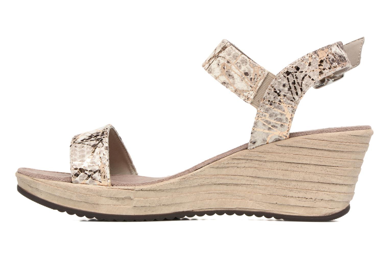 Sandales et nu-pieds Tamaris Khat Beige vue face