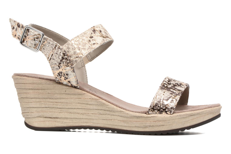 Sandales et nu-pieds Tamaris Khat Beige vue derrière