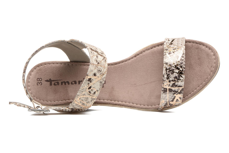 Sandales et nu-pieds Tamaris Khat Beige vue gauche