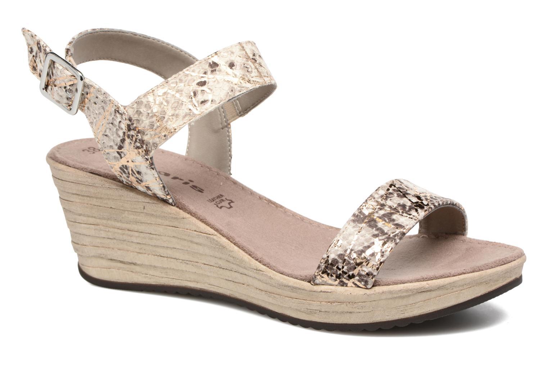 Sandales et nu-pieds Tamaris Khat Beige vue détail/paire