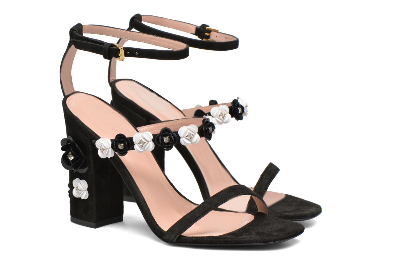 Sandales et nu-pieds Boutique Moschino Palermo Noir vue 3/4