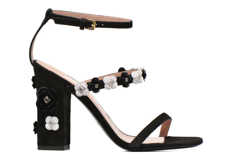 Sandales et nu-pieds Boutique Moschino Palermo Noir vue derrière