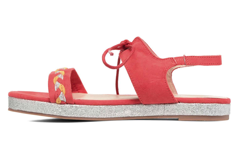 Sandales et nu-pieds Divine Factory Oko Orange vue face