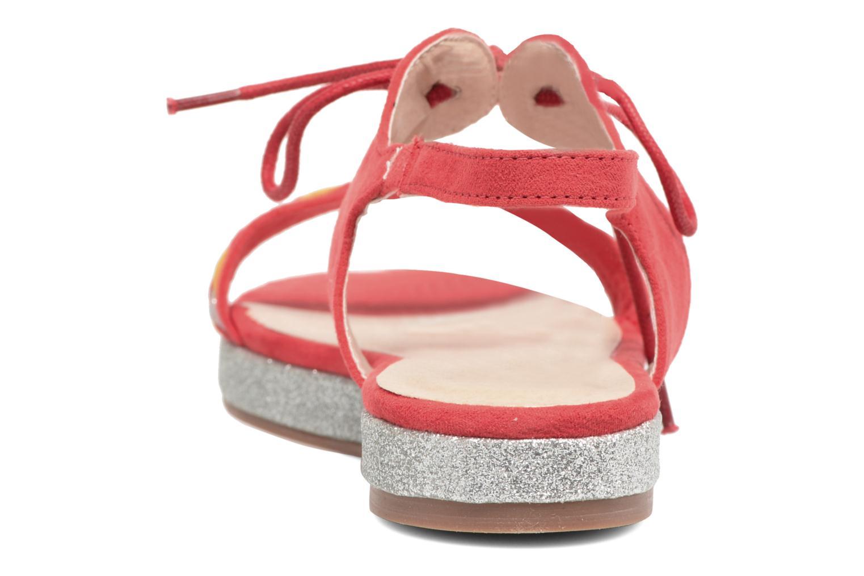 Sandales et nu-pieds Divine Factory Oko Orange vue droite