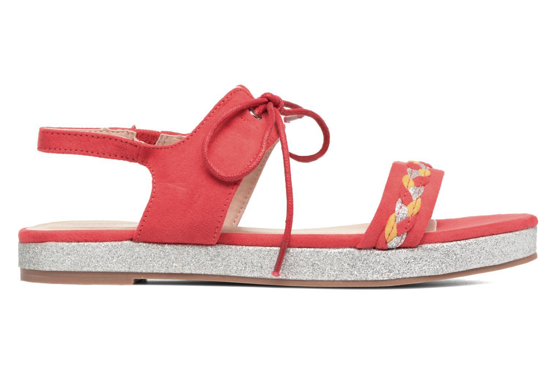Sandales et nu-pieds Divine Factory Oko Orange vue derrière
