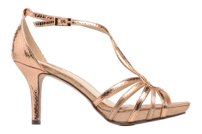 Sandales et nu-pieds Menbur TIFLIS Or et bronze vue derrière