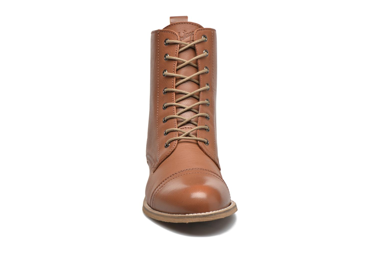 Ankle boots Ippon Vintage Denim Road Brown model view