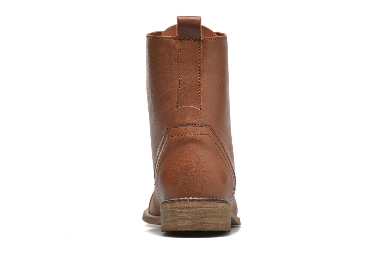 Boots en enkellaarsjes Ippon Vintage Denim Road Bruin rechts