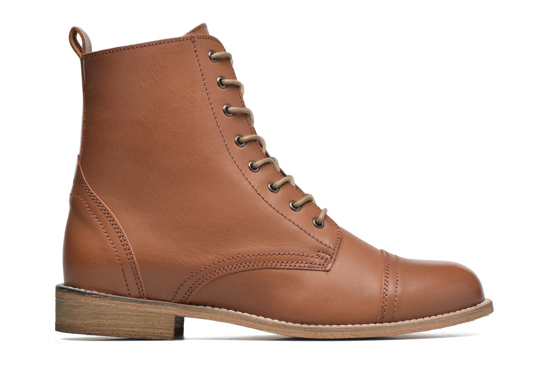 Ankle boots Ippon Vintage Denim Road Brown back view
