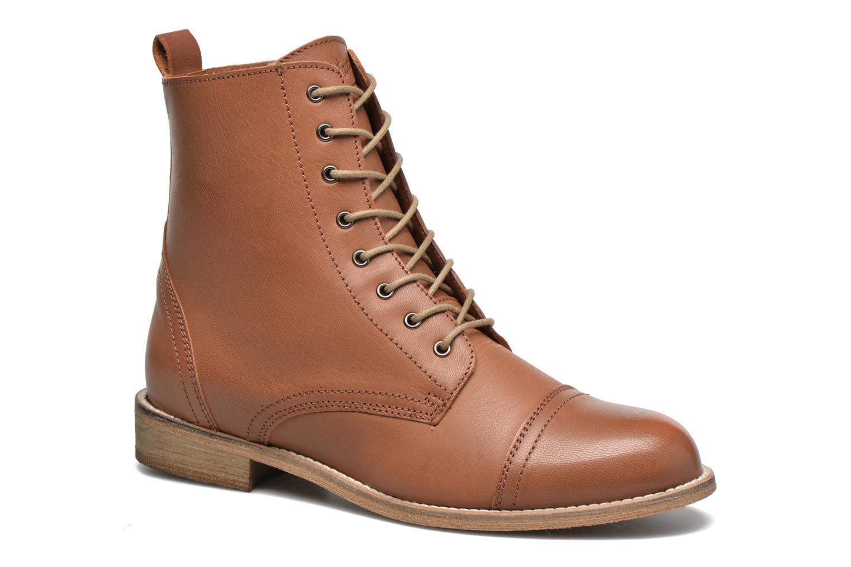 Boots en enkellaarsjes Ippon Vintage Denim Road Bruin detail
