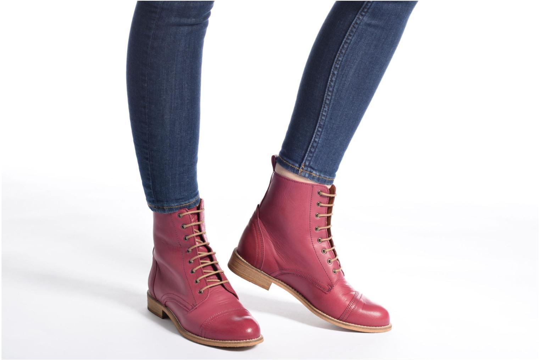 Bottines et boots Ippon Vintage Denim Road Bleu vue bas / vue portée sac