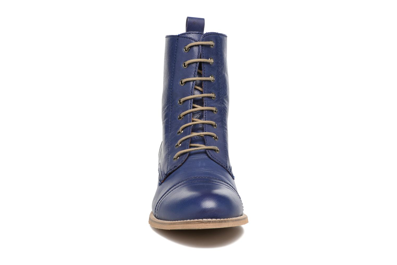 Bottines et boots Ippon Vintage Denim Road Bleu vue portées chaussures