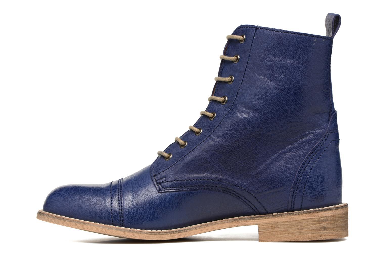 Bottines et boots Ippon Vintage Denim Road Bleu vue face