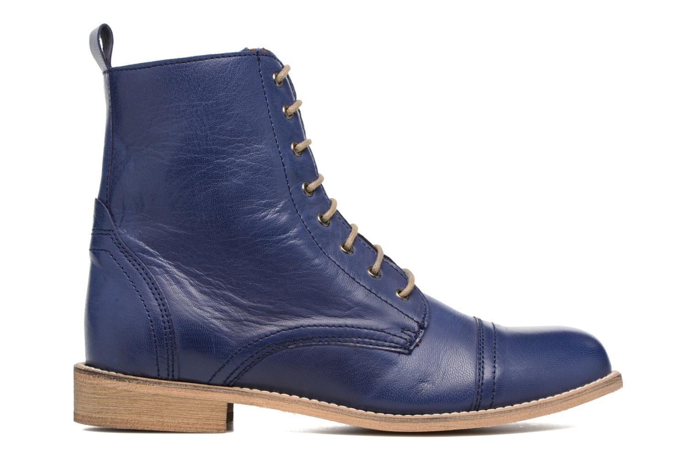Bottines et boots Ippon Vintage Denim Road Bleu vue derrière