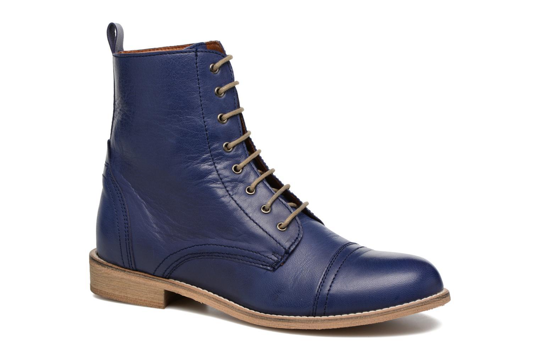 Bottines et boots Ippon Vintage Denim Road Bleu vue détail/paire