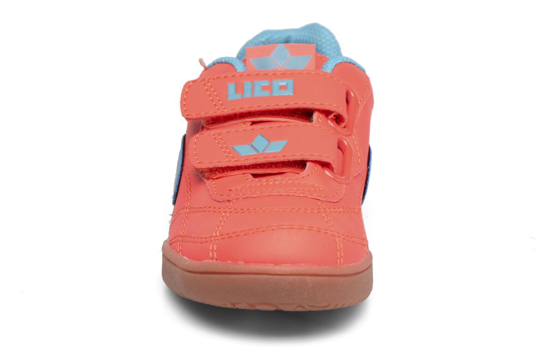Baskets LICO Bernie V Orange vue portées chaussures