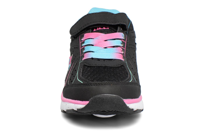 Baskets LICO Rainbow Vs Noir vue portées chaussures