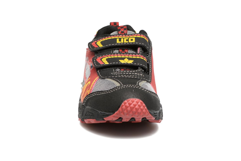 Baskets LICO Hot V Blinky Noir vue portées chaussures