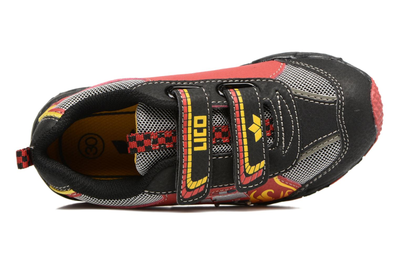Hot V Blinky Rot schwarz gelb