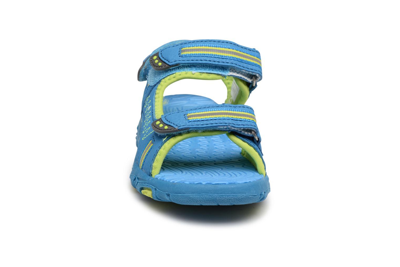 Sandales et nu-pieds LICO Crispy V Bleu vue portées chaussures