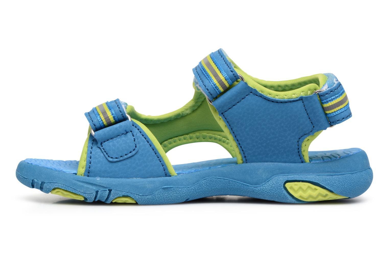Sandalias LICO Crispy V Azul vista de frente