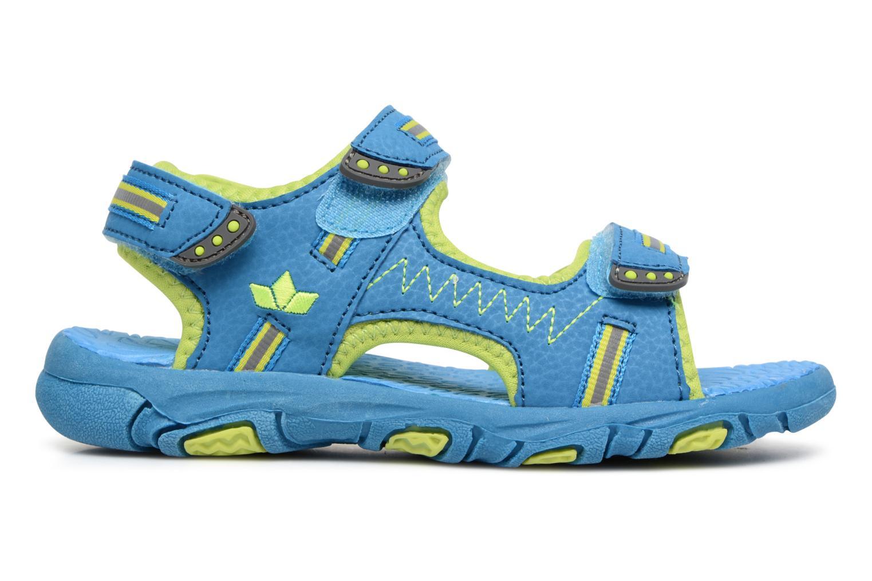 Sandales et nu-pieds LICO Crispy V Bleu vue derrière