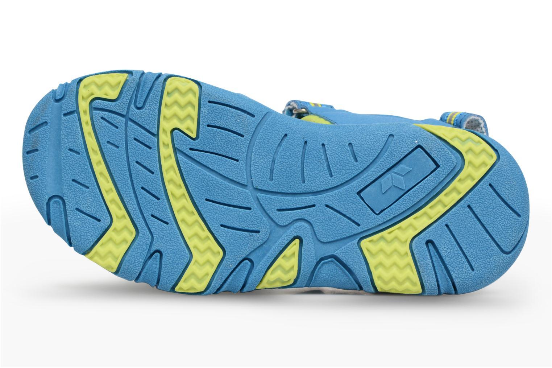 Sandalias LICO Crispy V Azul vista de arriba