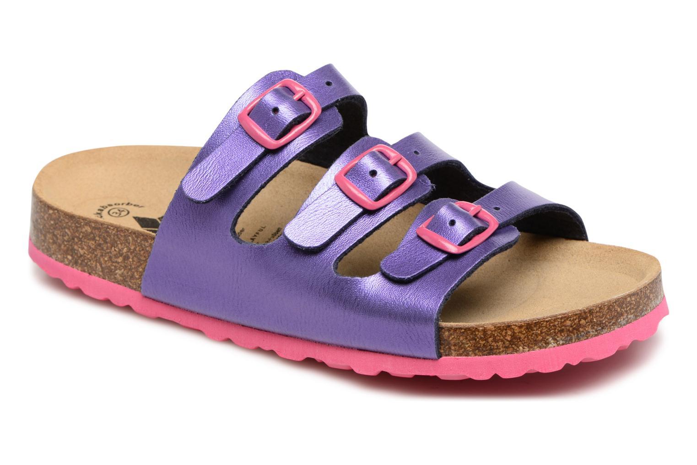 Sandales et nu-pieds LICO Bioline Kids Violet vue détail/paire