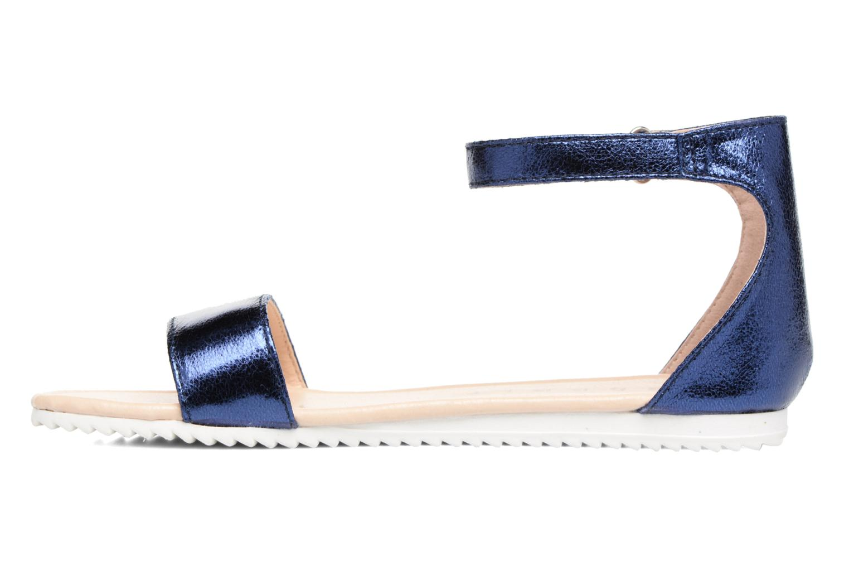 Sandales et nu-pieds Esprit MINA MET SANDAL Bleu vue face