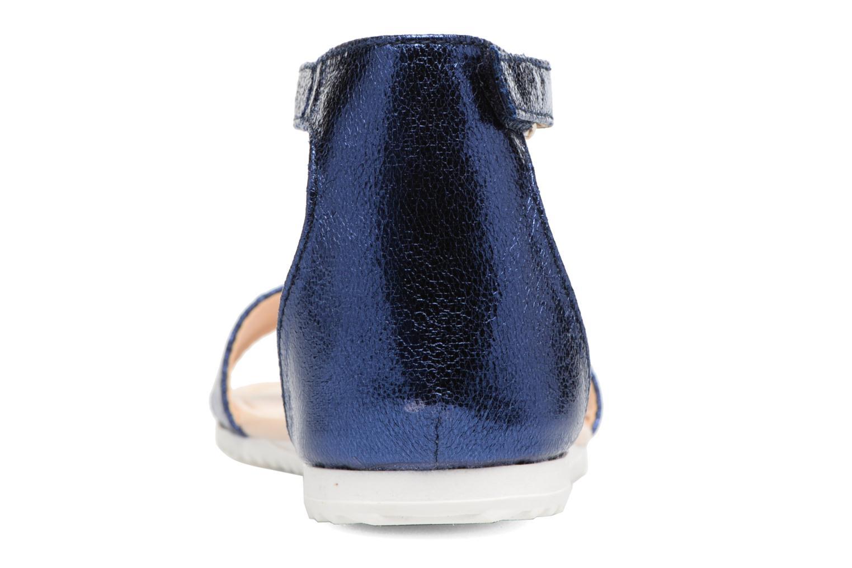 Sandales et nu-pieds Esprit MINA MET SANDAL Bleu vue droite