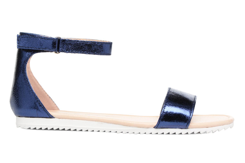Sandales et nu-pieds Esprit MINA MET SANDAL Bleu vue derrière