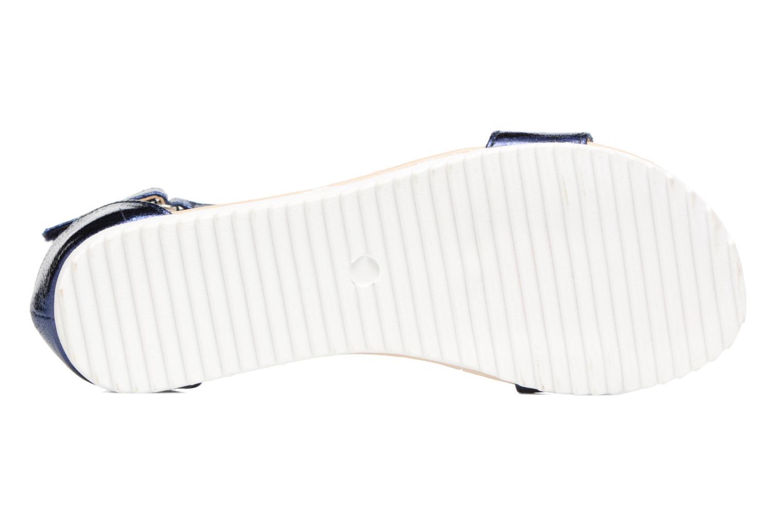 Sandales et nu-pieds Esprit MINA MET SANDAL Bleu vue haut