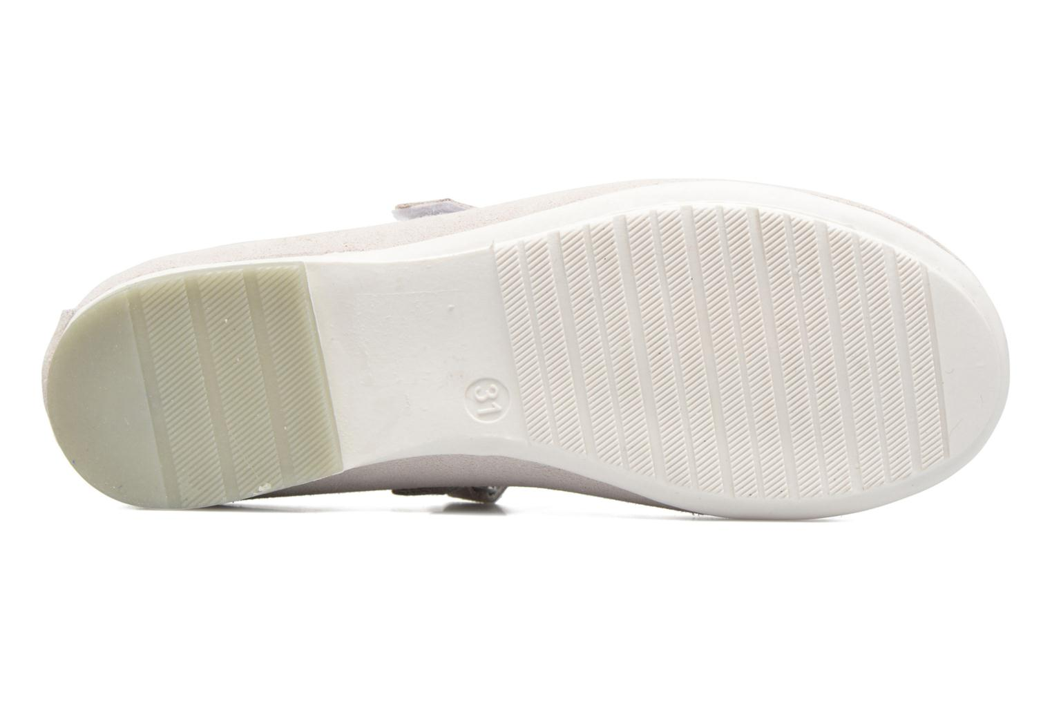 Ballet pumps ASSO Camelia White view from above