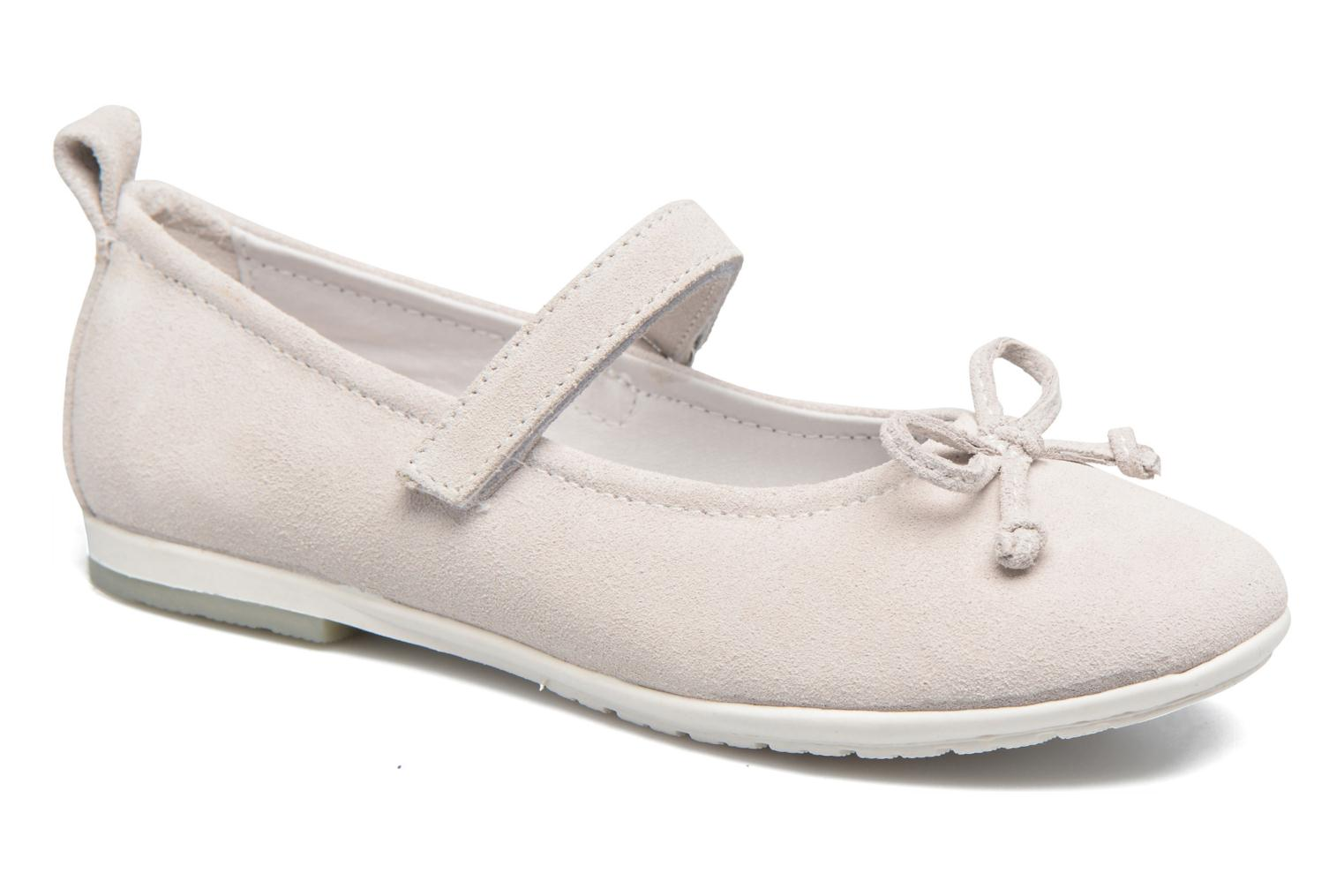 Ballet pumps ASSO Camelia White detailed view/ Pair view