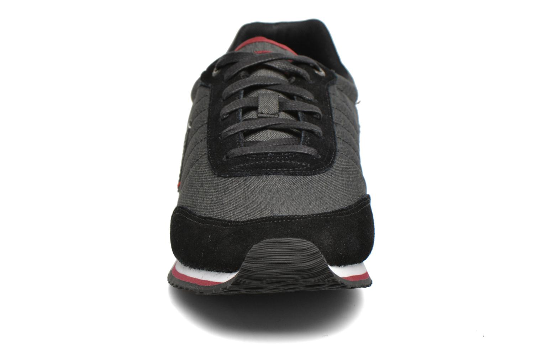Baskets Le Coq Sportif Marsancraft 2 Tones/Suede Noir vue portées chaussures