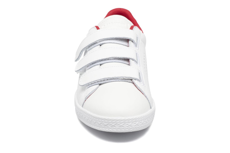 Baskets Le Coq Sportif Charline Strap Streetwise Blanc vue portées chaussures