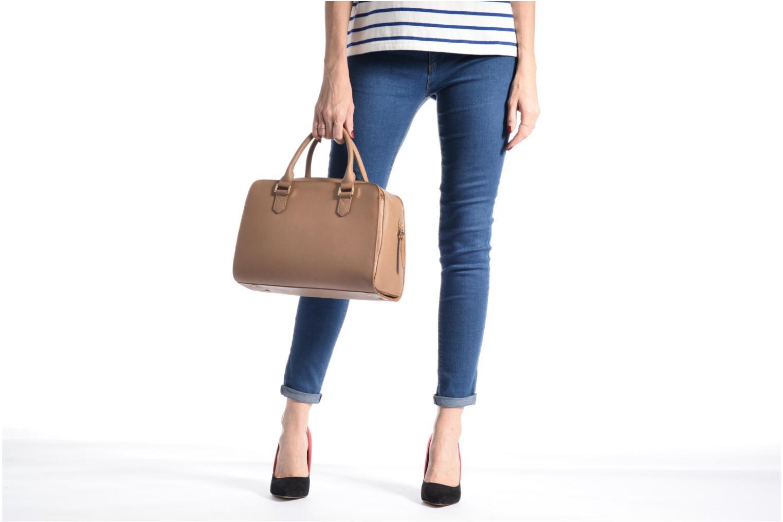 Handtaschen Sabrina Carolina grau ansicht von oben
