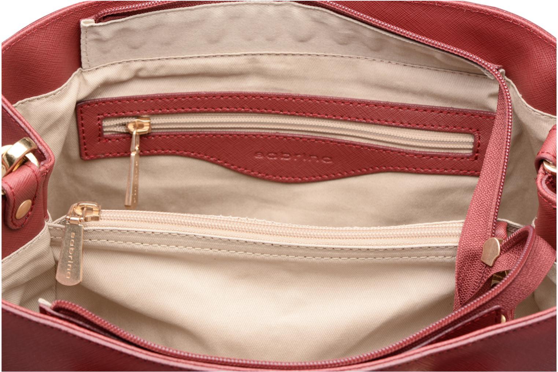 Handbags Sabrina Martina Burgundy back view