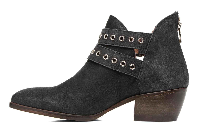 Bottines et boots Billi Bi Oclay Noir vue face