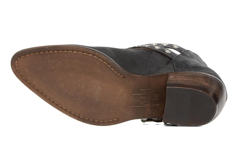 Bottines et boots Billi Bi Oclay Noir vue haut